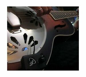 Dobro Guitar Pickup with Flexible Micro-Gooseneck by Myers Pickups