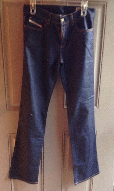 Diesel Women's bluee Jeans Waist 30 Length 32 Stretch Bootzee Regular Slim Boot