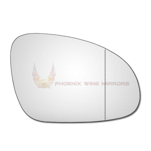 Right Hand Drivers Side VW EOS 2006-2008 Wide Angle Wing Door Mirror Glass
