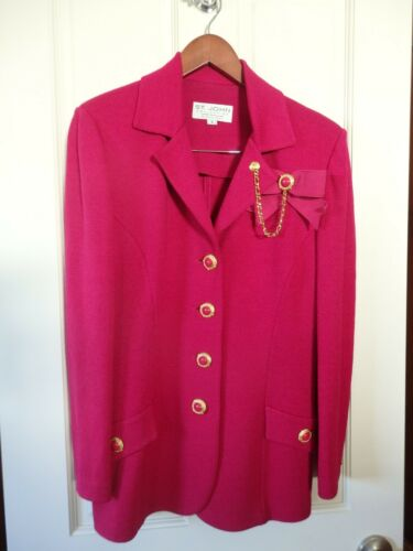 St. John Knits Suit Size 8