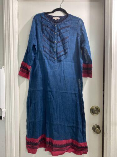 RITU KUMAR Hand Block Print Kurtas Dress  India SZ