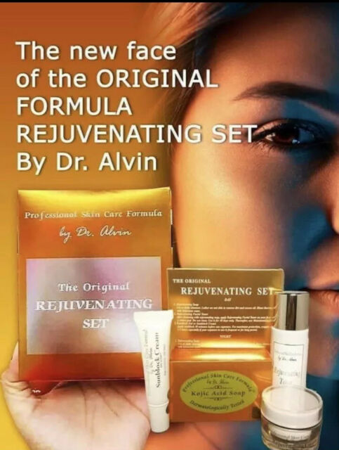 Rejuvenating Set Professional Skin Care Formula By Dr Alvin Whitining Bleach For Sale Online Ebay