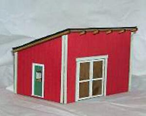 Details about POWER HOUSE MACHINE SHOP O On30 Model Railroad Unpntd Laser  Structure Kit DF220