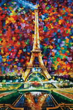 PARIS OF MY DREAMS - LEONID AFREMOV - ART POSTER 24x36 - 11450