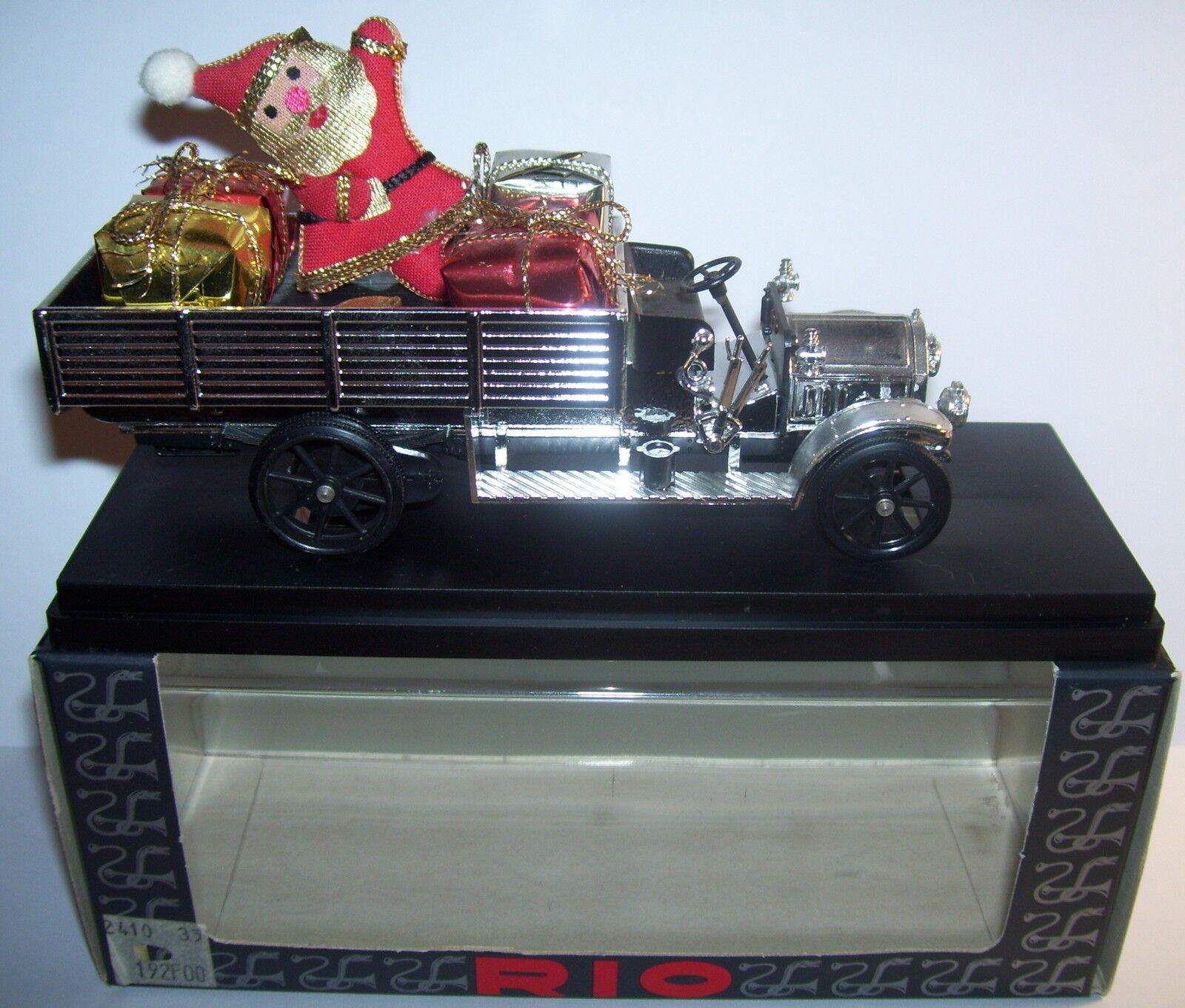 RARE RIO FIAT AUTOCAR 18 BL EDITION SPECIALE CHRISTMAS NOEL REF349 1993 1 43 TOP