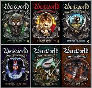 Image result for curtis jobling wereworld series