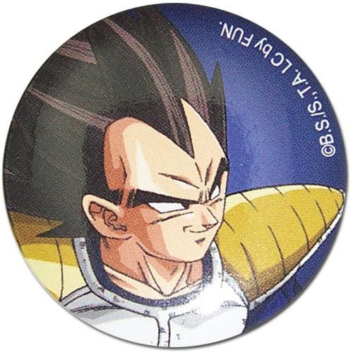 **Legit** Dragon Ball Z SD Prince of Fallen Saiyan Vegeta 1.25/'/' Button #16659