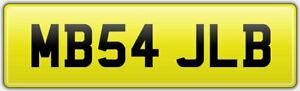 MB54-JLB-RARE-DVLA-CAR-REG-NUMBER-PLATE-ALL-FEES-PAID-FOR-MERCEDES-BENZ-JL-JB