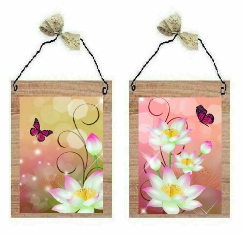 Pink Butterfly Pictures Beautiful Flowers Butterflies Bath Wall Hangings Plaques