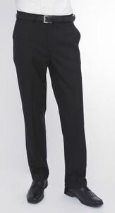 Trousers Black Wool Blend Skopes In Front Flat vaIgWY6q