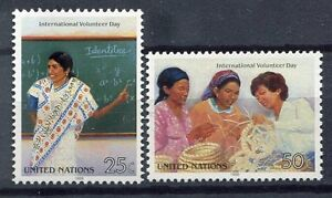 19200-UNITED-NATIONS-New-York-1988-MNH-Volunteers