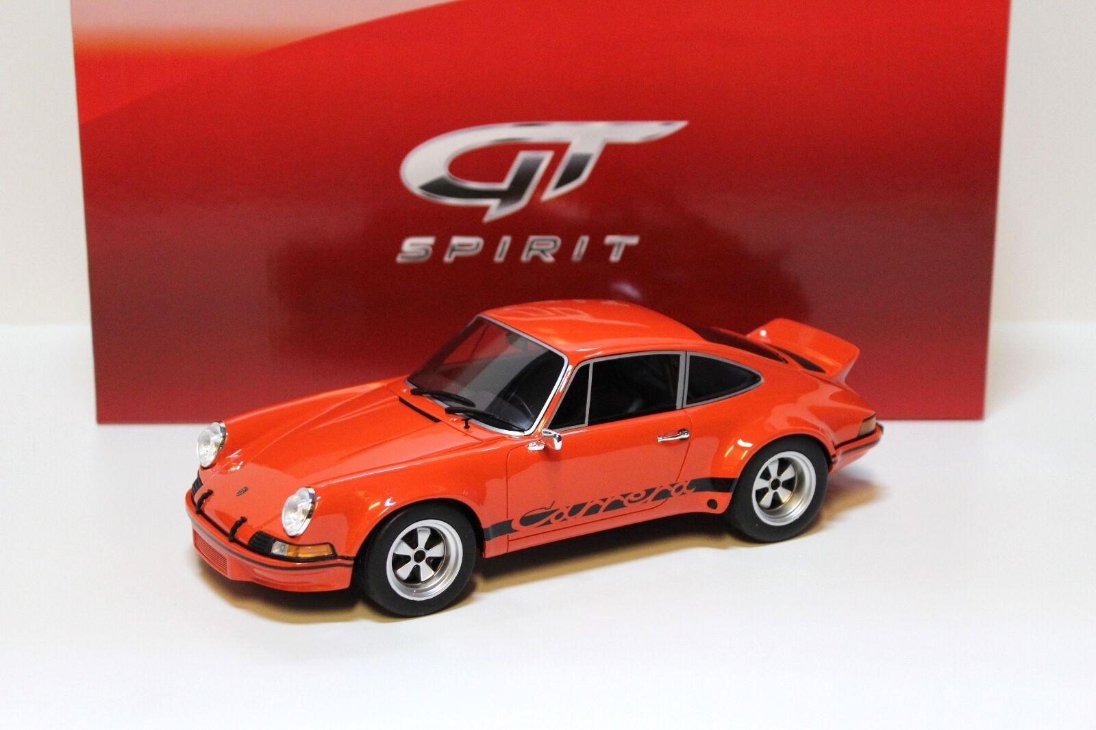 1 18 GT spirit porsche 911 rsr 2.8l - 1973-Orange New chez premium-MODELCARS