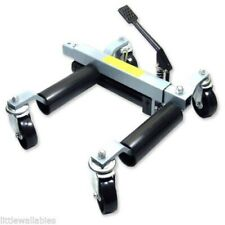 Pro 1500 lbs HYDRAULIC Positioning Car Wheel Dolly Jack Lift Moving Vehicle