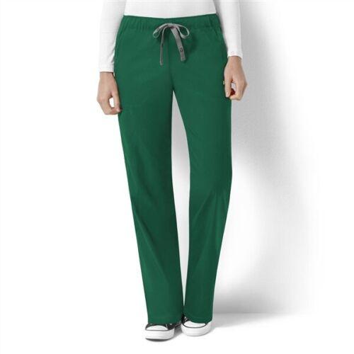 NWT WonderWink Next Scrubs Pants Bottoms 5119 500 Navy Hunter Green Small