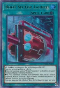 BOOT-SECTOR-LAUNCH-ULTRA-RARE-EXFO-EN053-MINT-NM-YUGIOH