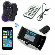 Bluetooth Hands-free Car Kit MP3 Player FM Transmitter Modulator Steering Wheel
