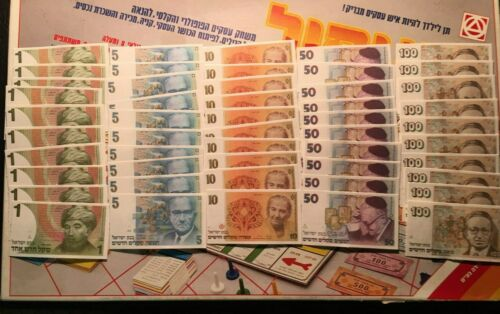 Monopoly Money Foreign Edition Vintage Game Replacement Pieces Free Shipping