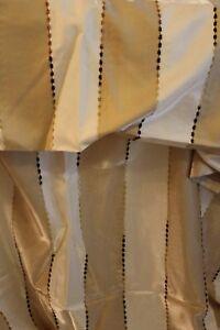 Schlaufenschal-Schal-Gardine-Vorhang-135x245cm-blickdicht-2Stueck-NEU-amp-OVP