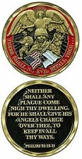 There Shall No Evil Befall Thee... / Psalms 91:10-11 Challenge Coin 2465