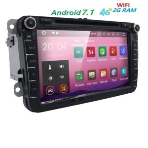 autoradio rns 510 stereo 8 pollici android 7 1 vw golf. Black Bedroom Furniture Sets. Home Design Ideas
