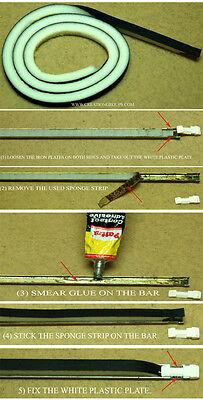 SpongeBar // Sponge-bar 2 pack Knitmaster Sponge  Bar kit Jones Silver Reed