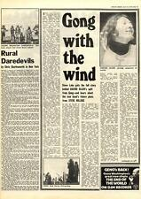 Gong Daevid Allen With The Wind MM5 Interview 1975