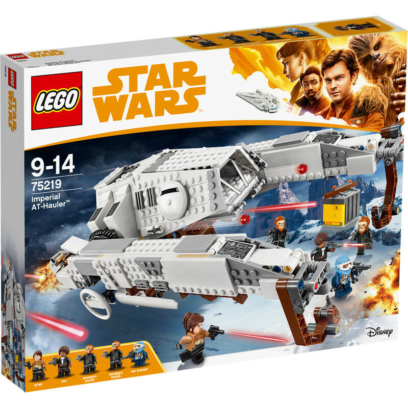 Lego Star Wars Solo Imperial AT-Hauler Building Set 75219 NEW