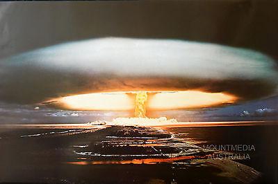NEW LICENSED ART LAMINATED HYDROGEN BOMB 1974 POSTER 61X91CM