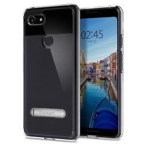 the latest 21d8d e71db Details about Pixel 3 / 3 XL Case | Spigen® [Ultra Hybrid S] Kickstand  Bumper Protective Cover