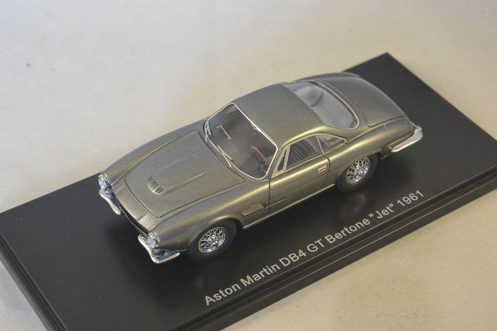 NEO 44575 - Aston Martin DB4 jet Betone gris metal 1961  1/43 | Offre Spéciale