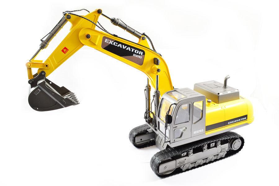 Grande scala RC Caterpillar Escavatore, adattate Premium Label versione-HOBBY Eng