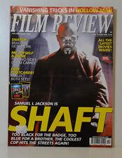 FILM REVIEW 598 SAMUEL L JACKSON SHAFT BRAD PITT JIM CARREY BILLY ELLIOT FR106
