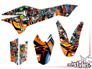 ktm 690 smc smc r enduro 08 17 graffiti dekor decals. Black Bedroom Furniture Sets. Home Design Ideas