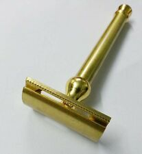 BRASS  SAFETY RAZOR, SHAVING SAFETY RAZOR, MEN SHAVING SYSTEM , SHAVING RAZOR v