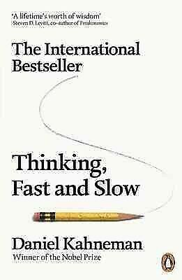 Thinking, Fast and Slow, Paperback by Kahneman, Daniel, Brand New, Free shipping