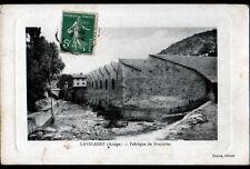 LAVELANET (09) USINE FABRIQUE de DRAPERIES en 1910