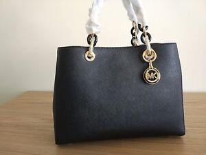 d8ca9ccd1 Michael Kors Cynthia Medium Leather Satchel -price tag,care card, QR ...