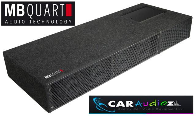 MB Quart QB410 un Universale 4x10cm Active Subwoofer Bass Box per Tronco 89cm