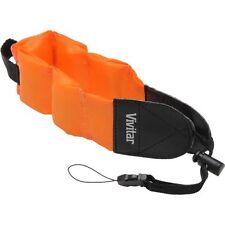 Floating Foam Orange Vivitar Strap For Fujifilm Finepix XP50 XP100