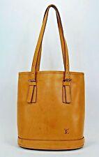RARE Vintage Louis Vuitton Nomade Vachetta Leather Tan Bucket PM Limited Bag 201