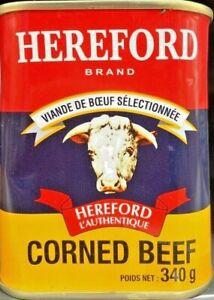 340g-Dose-Hereford-Corned-Beef-Rindfleisch-Fruehstuecksfleisch-brasilianisch-Rind
