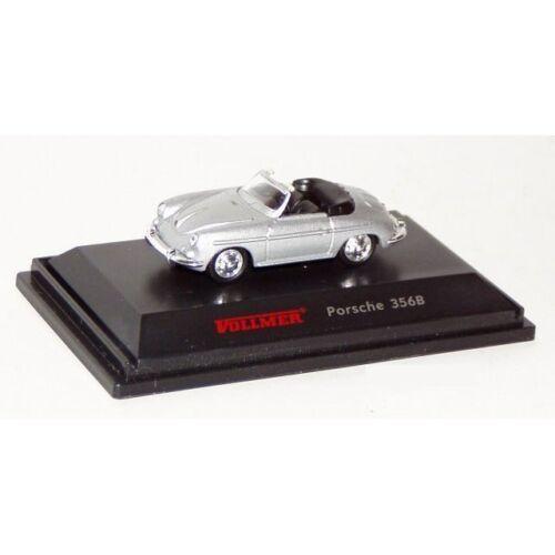 silber **Vollmer 1609 H0 Porsche 356 B OVP** Fertigmodell Neu
