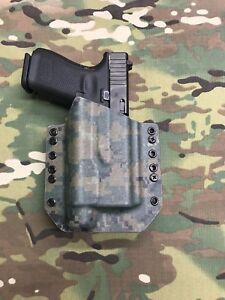 TLR1 Woodland Digital Kydex Holster for Glock 20 21 Streamlight TLR-1s