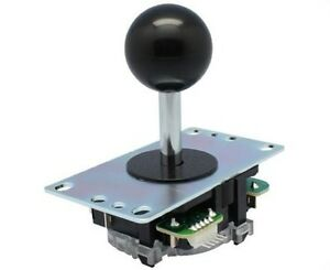 Original-Black-Sanwa-JLF-TP-8YT-Joystick-for-Arcade-Jamma-MAME-Replacement-Part