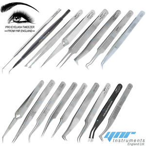 813690adf4d Image is loading YNR-Eyelash-Extension-Tweezers-for-Russian-3D-6D-