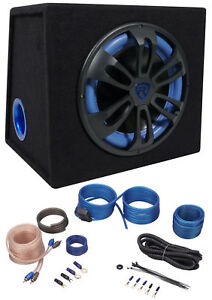 Rockville-RVB12-1A-12-500w-Active-Powered-Car-Subwoofer-Sub-Enclosure-Amp-Kit