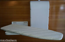 WALL MOUNTED IRONING BOARD - COMPLETE SET WITH PLASTIC FRONT COVER