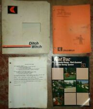 Ditch Witch Jet Trac Guided Boring System Parts Catalogbook Brochure Amp Misc