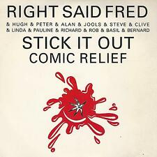 """RIGHT SAID FRED AND FRIENDS """" STICK IT OUT """" 7"""" TUG RECORDS"""
