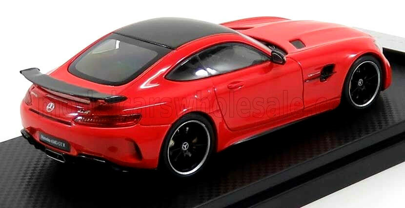 Wonderful modelcar MERCEDES AMG GTR V8 BITURBO 2017 - red - 1 43 - lim.edit.